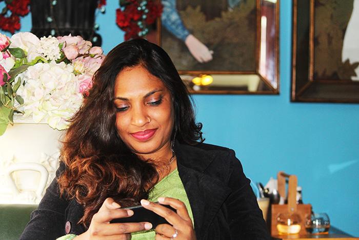 sunita biddu london cafe food blogger review